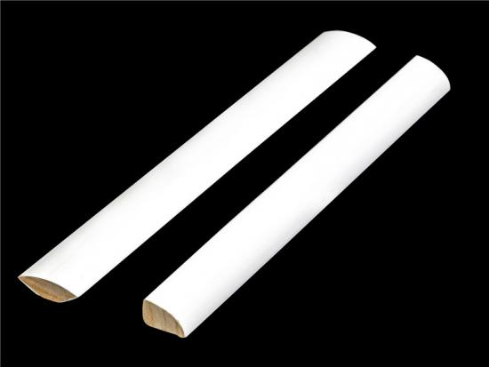 Quarter Round Coated Baseboard moulding