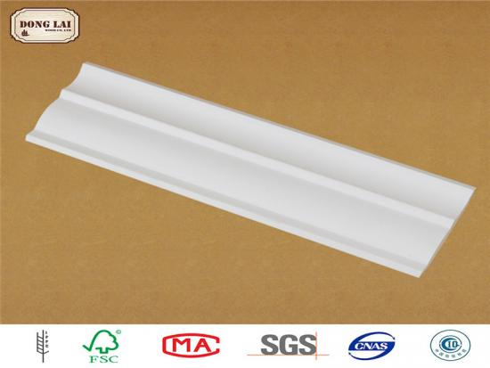 Customized Waterproof Prime Wood CeilingMoulding
