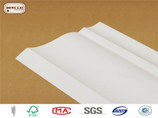 Architectural Waterproof Prime Wood Ceiling Moldings