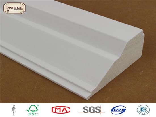 Primed Wood  Skirting Baseboard